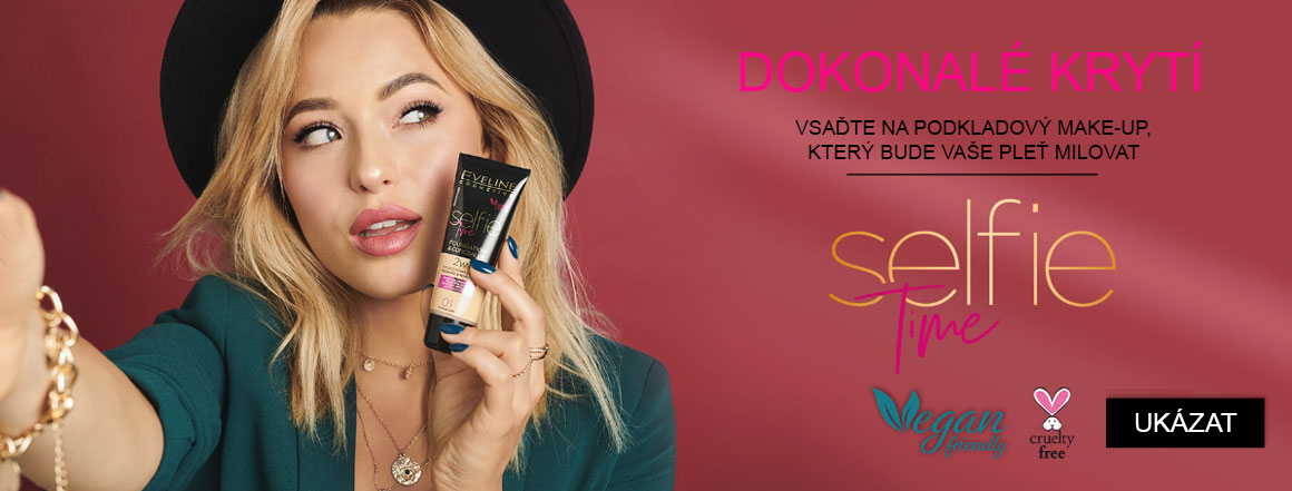 Eveline cosmetics Selfie time podkladový make-up | evelio.cz