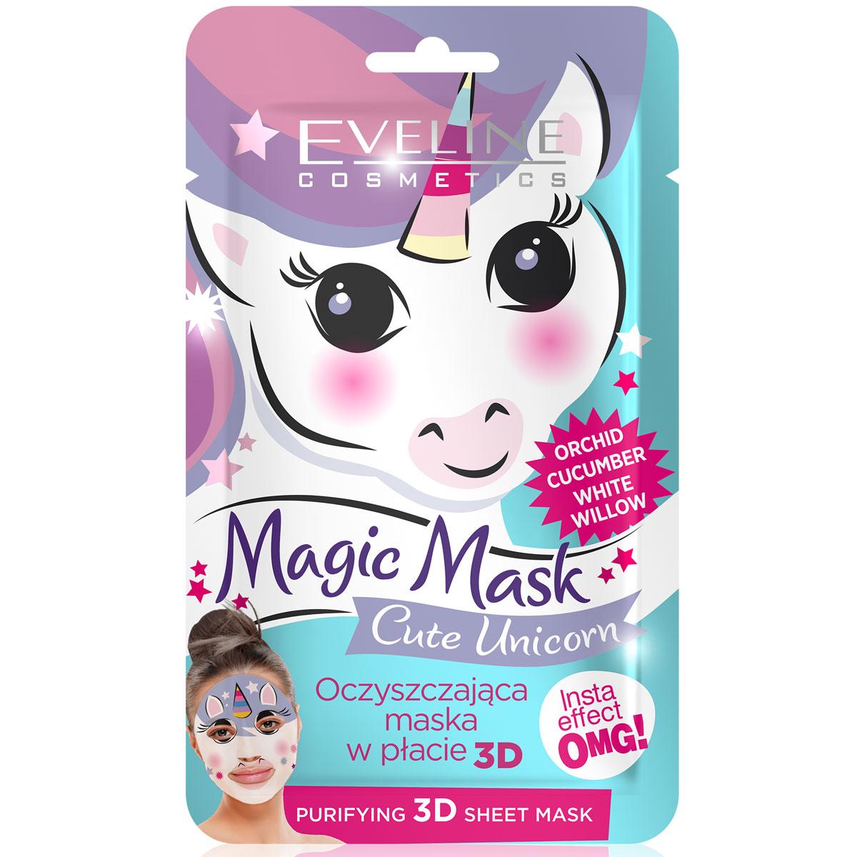 Eveline-cosmetics-pleťová-maska-Jednorožec