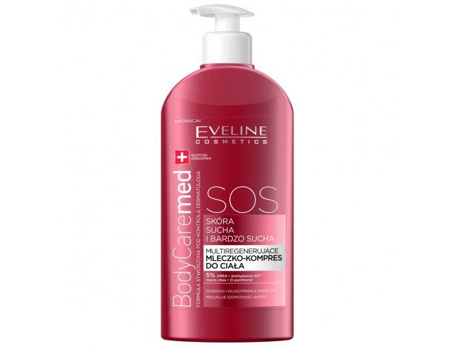 Eveline cosmetics tělové mléko BodyCaremed pro velmi suchou pokožku těla | evelio.cz