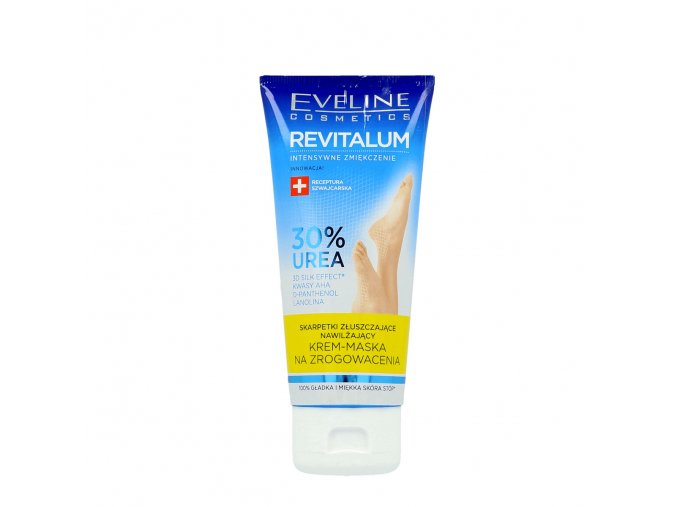 Hydratační krém-maska Eveline Revitaum na nohy | evelio.cz