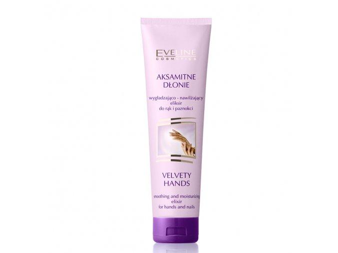 Aksamité dlaně s jemným krémem od Eveline cosmetics | evelio.cz
