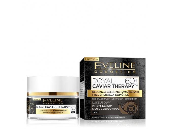 Pleťový krém 60+ Royal caviar noční Eveline cosmetics | evelio.cz