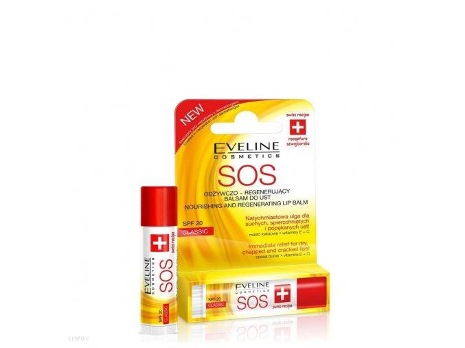 Eveline cosmetics Sos vyzivny balzam na rty Argan oil | evelio.cz