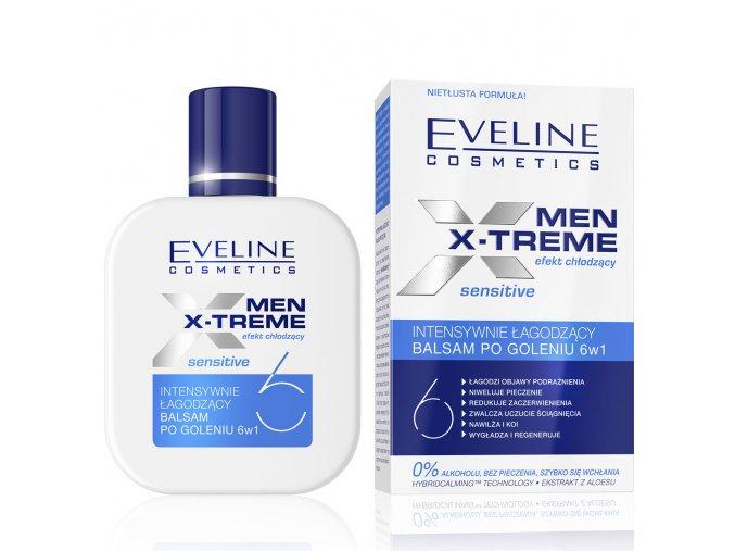 Balzám po holeni men x treme Eveline Cosmetics | evelio.cz