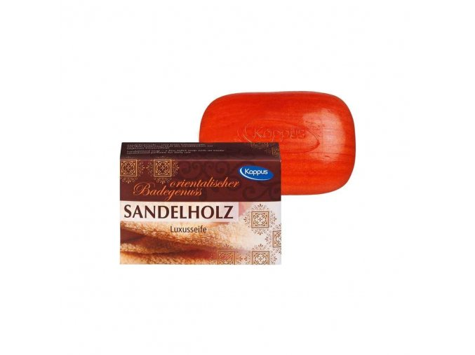 Kappus Luxusní koupelové mýdlo Sandelholz | evelio.cz