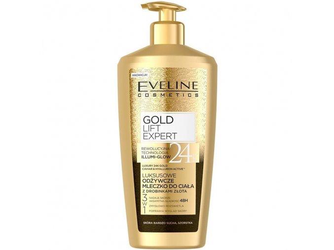 Eveline cosmetics Gold lift Expert Luxusní tělové mléko | evelio.cz