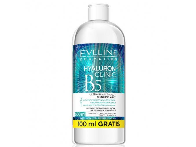 Eveline cosmetics Hyaluron Clinic micelární voda | evelio.cz