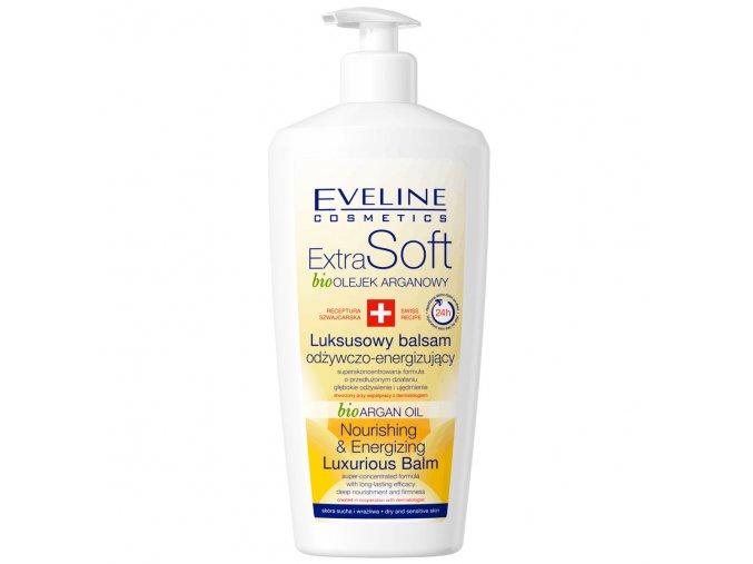 Eveline cosmetics Extra Soft bioOLEJEK ARGANOVY, tělové mléko | EVELIO