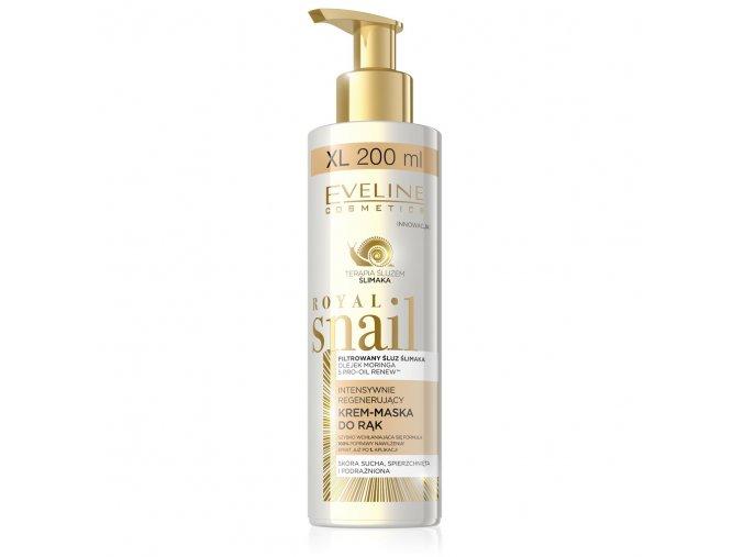 Eveline Cosmetics Royal snail krém na ruce XL balení | evelio.cz