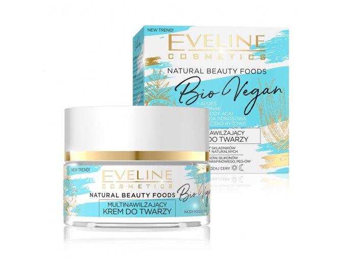 Eveline cosmetics Bio Vegan multivýživný pleťový krém, 95% natural | evelio.cz