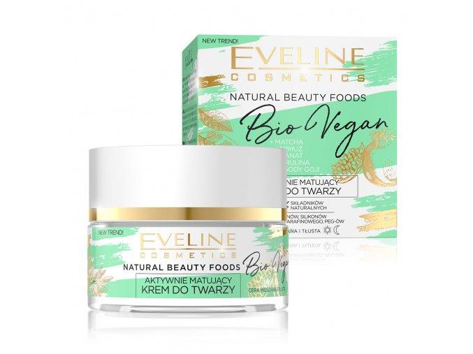 Eveline cosmetics Bio vegan matující pleťový krém | evelio.cz