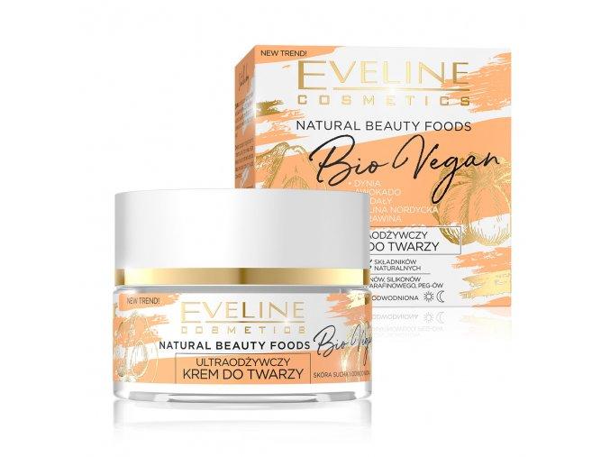 Eveline cosmetics Bio Vegan ultra výživný pleťový krém | evelio.cz