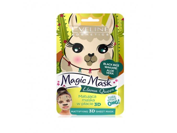 Eveline cosmetics pleťová maska Lama, matující pleťová maska | evelio.cz