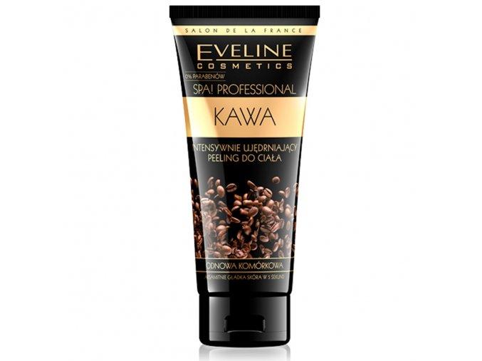 Tělový sprchový peeling s kávou | EVELIO