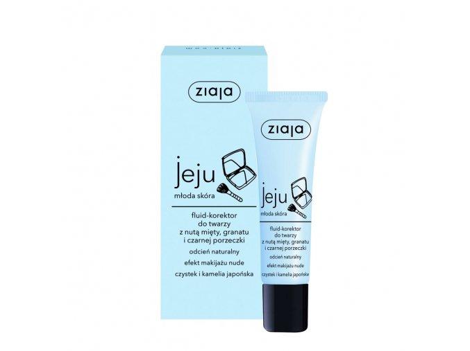 Ziaja Jeju fluid-korektor na tvá | evelio.cz