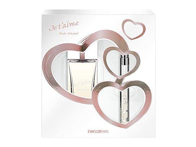 Je T 'Aime Mon Amour, dárková sada parfémů pro ženu | evelio.cz