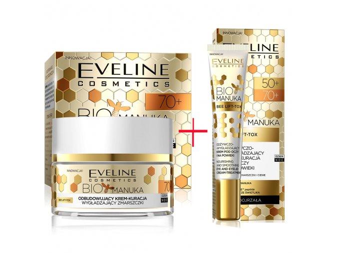 Eveline cosmetics Bio Manuka sada 70+ | evelio.cz