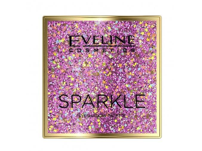 Eveline cosmetics Sparkle Paleta očních stínů | evelio.cz