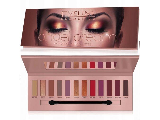 Eveline cosmetics Angel Dream Paleta očních stínů | evelio.cz