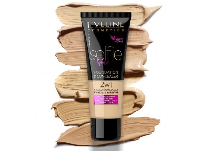 Eveline cosmetics Selfie Time odstiny