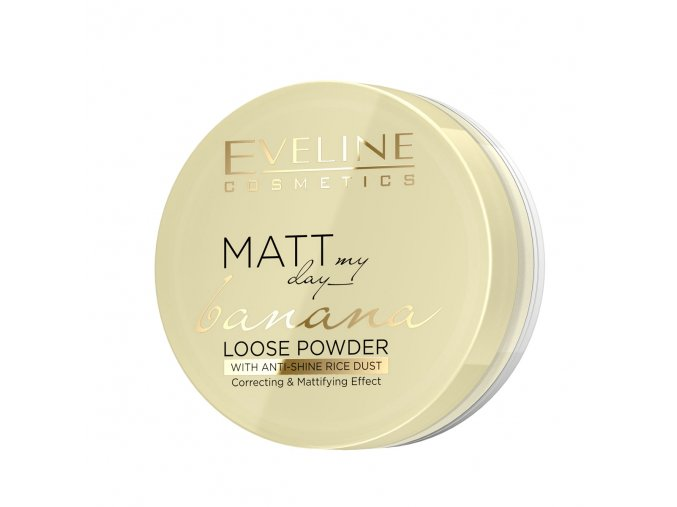 Eveline cosmetics Matt pudr odstín bananna | evelio.cz