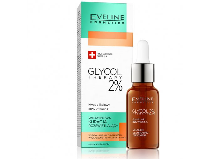 Eveline cosmetics Glyco Therapy Vitamin C 20 % | evelio.cz