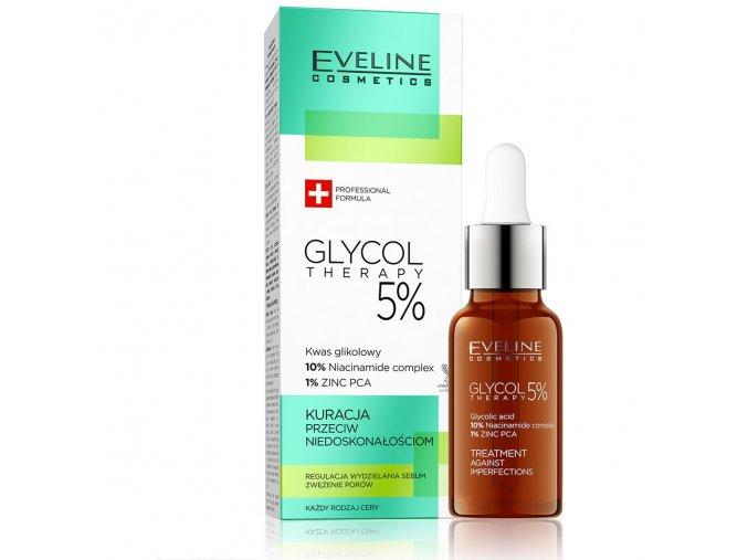 Eveline cosmetics Glyco Therapy sérum na nedokonalosti   evelio.cz
