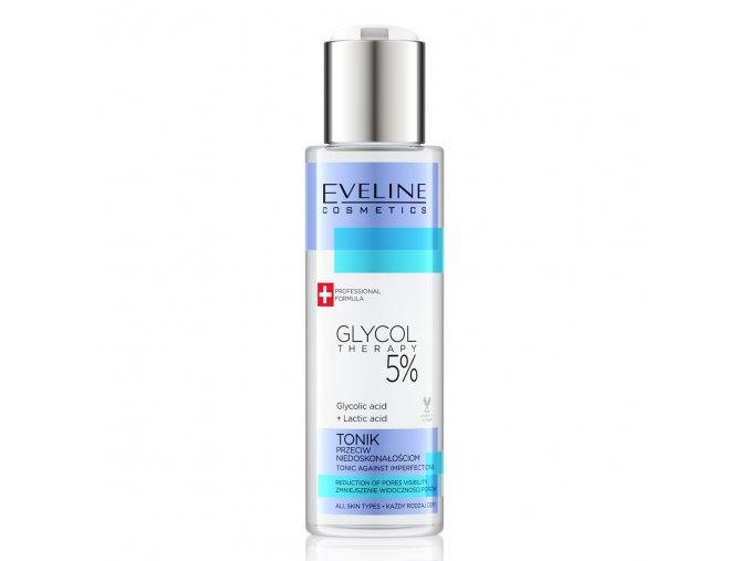 Eveline cosmetics Glyco Therapy tonikum proti nedokonalostem