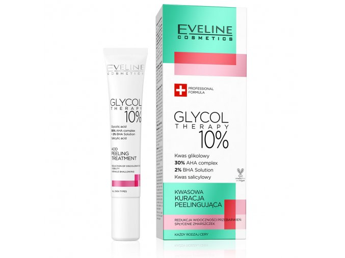 Eveline cosmetics Glycol Therapy Acid peeling treatment | evelio.cz