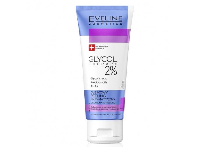 Eveline cosmetics Glycol Therapy Enzymatický peeling na tvář | evelio.cz