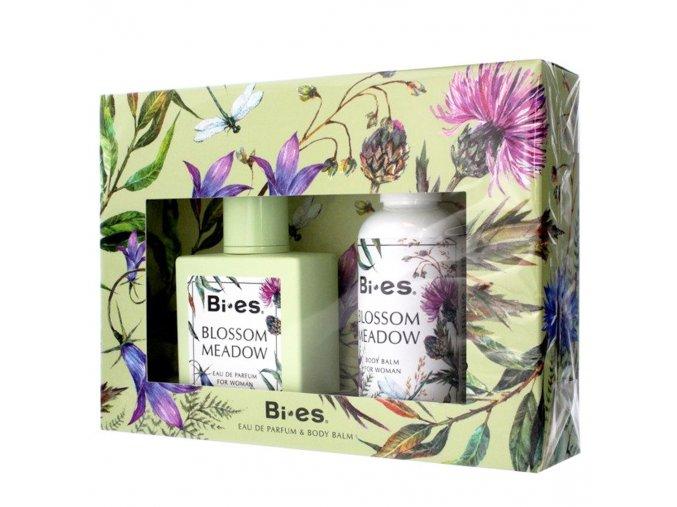 Bi es Blossom Meadow sada mini, dárková sada parfém + tělové mléko | evelio.cz