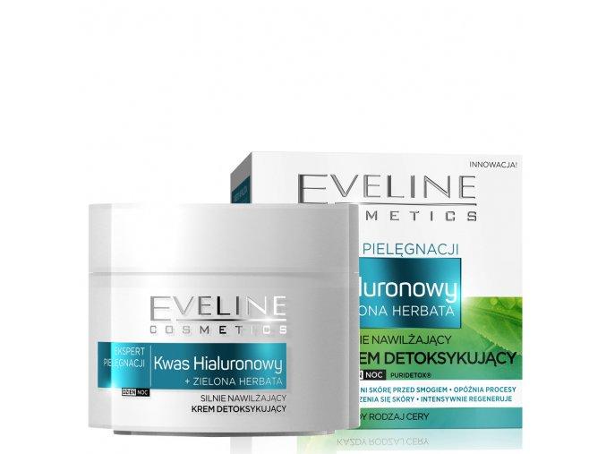 eveline cosmetics ekspert pleťový krém s kyselinou hyaluronovou, hydratační pleťový krém | evelio.cz