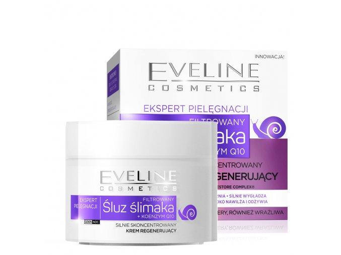 eveline cosmetics ekspert pleťový krém hlamýždí sliz   evelio.cz