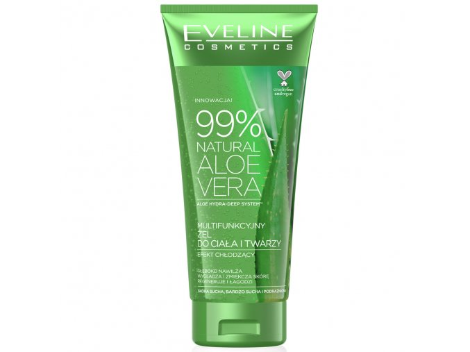 Eveline cosmetics Aloe vera gel | evelio.cz