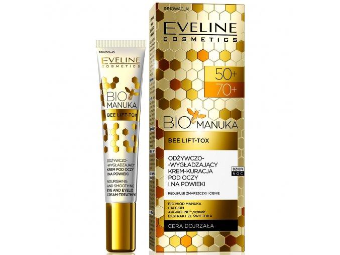 Eveline cosmetics Bio Manuka Oční krém 50/70+ | evelio.cz