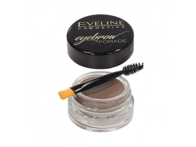 Eveline cosmetics EyeBrow, pomáda na obočí odstín soft brow | evelio.cz