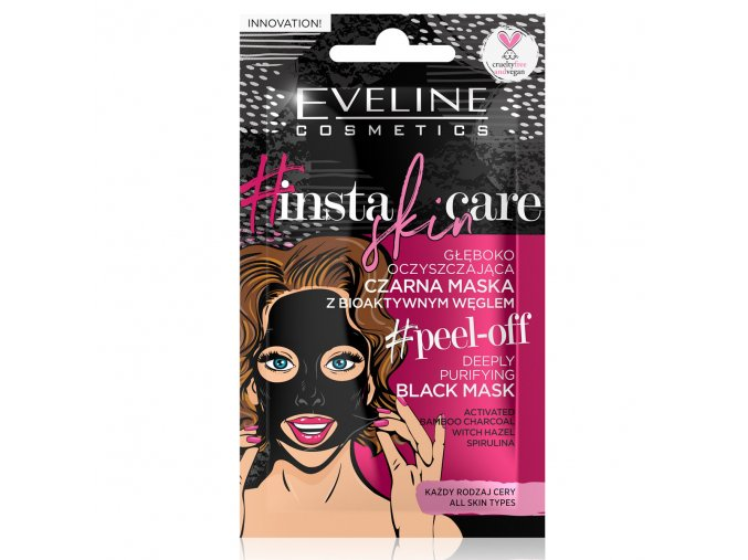 Eveline cosmetics Insta skin care pleťová maska   evelio.cz