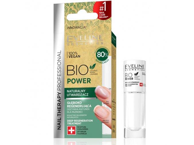 Eveline cosmetics BIO regenerační lak na nehty | evelio.cz