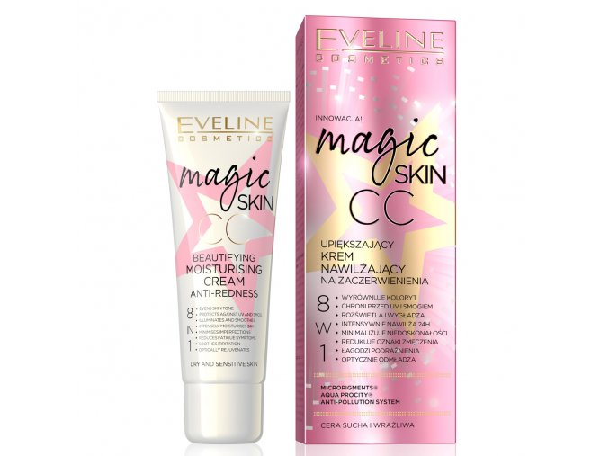 Eveline cosmetis Magical Skin CC hydratační krém | evelio.cz