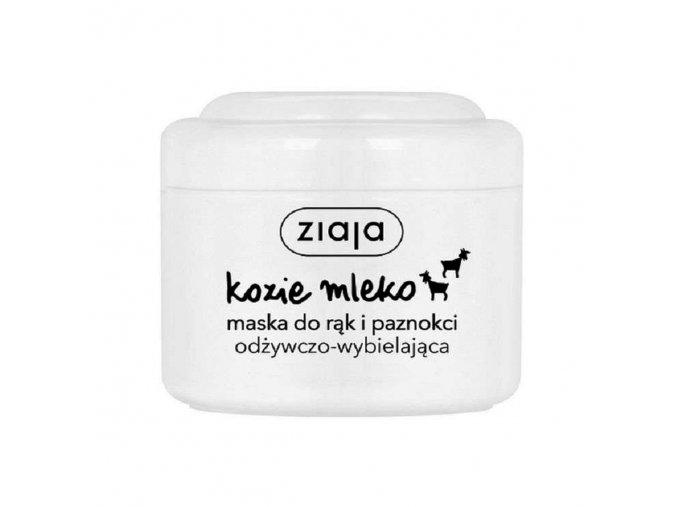 Ziaja Kozí mléko Bělící maska na ruce a nehty | evelio.cz