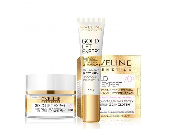 eveline cosmetics Gold lift expert sada 70+ | evelio.cz