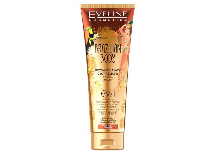 Eveline cosmetics Rozjasňující zlatý elixír | evelio.cz