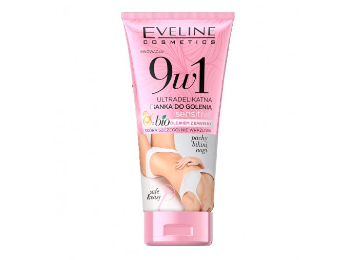 Eveline cosmetic 9 v 1ultralehká pěna na heloní SENSITIVE | evelio.cz