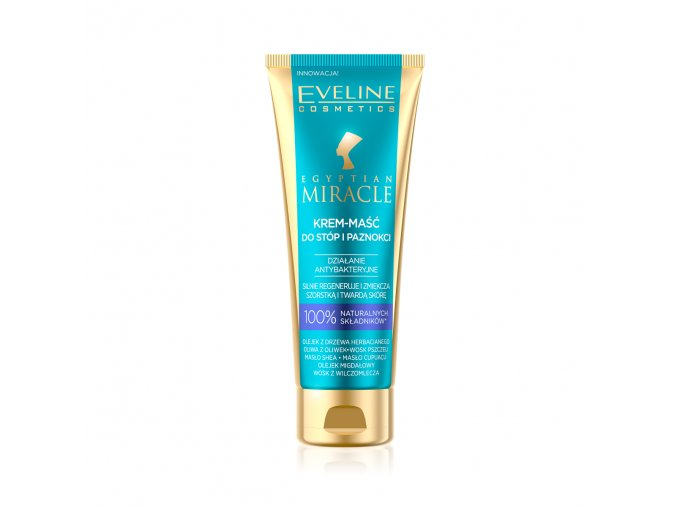 Eveline cosmetics Egyptian Miracle krém maska na ruce a nohy | evelio.cz