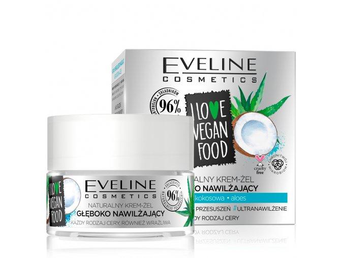 Eveline cosmetics I love vegan food Hydratační pleťový krém | evelio.cz