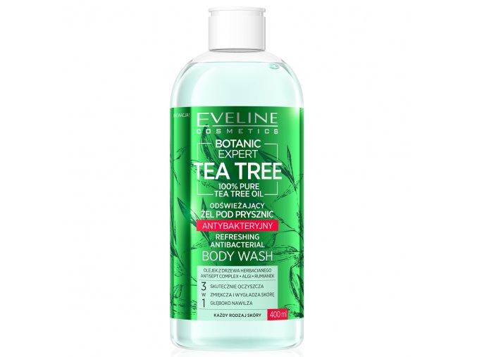 Eveline cosmetics Botanic Expert Tea Tree Osvěžující sprchový gel | evelio.cz