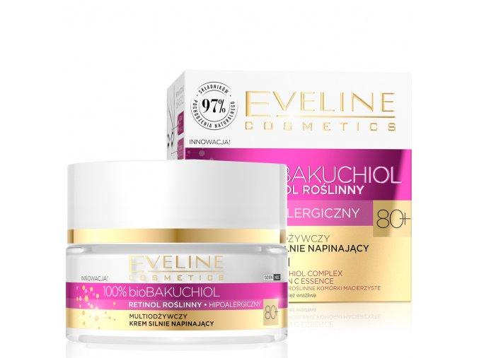 Eveline cosmetics bioBakuchiol Multi výživný pleťový krém 80+