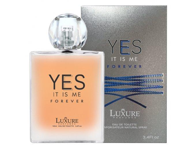 Luxure parfumes YES FOREVER for men toaletní voda pro muže 100 ml | evelio.cz
