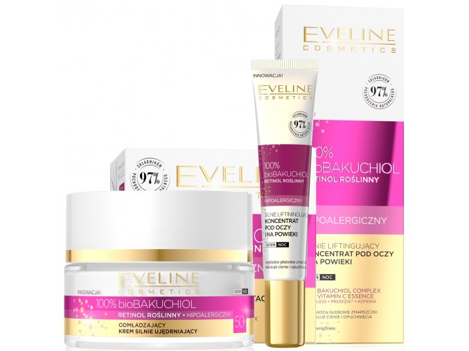 Eveline cosmetics bio bakuchiol sada 50+   sleva 21%   evelio.cz