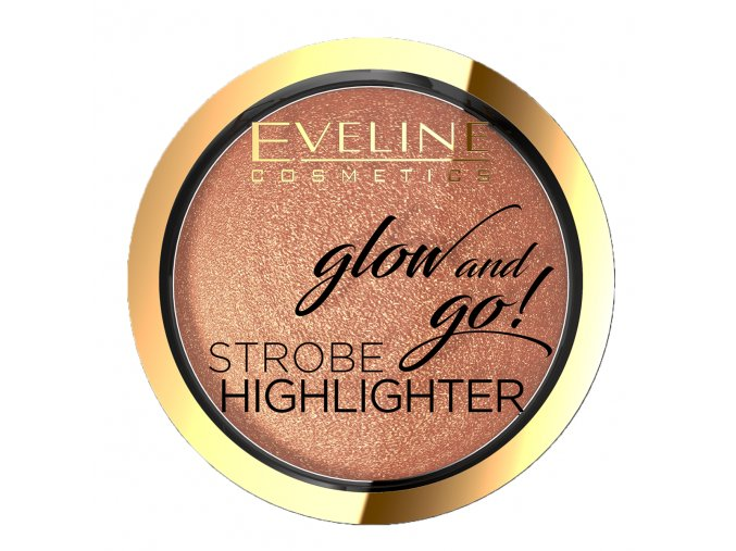 Eveline cosmetics Glow and Gow Strobe Highlighter 02